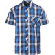 Meru Kilkis Functional SS Shirt Men Denim Big Check